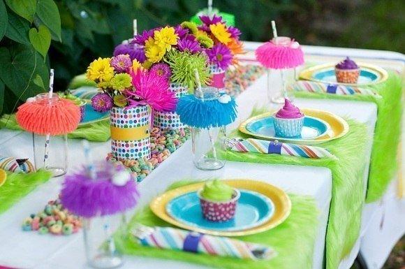 Гавайская вечеринка для детей